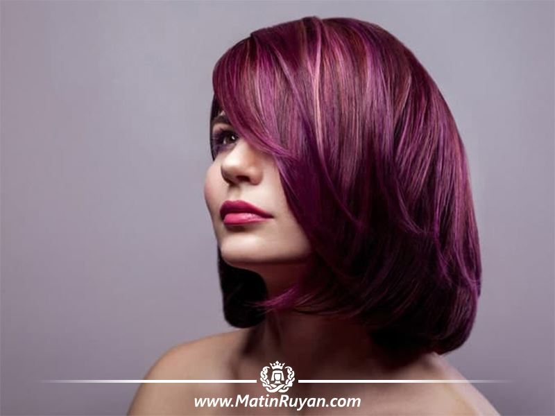 انتخاب رنگ مو را متناسب با چهره