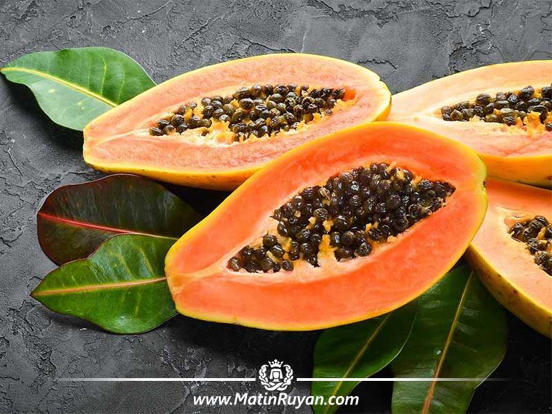 خواص و فواید میوه پاپایا برای پوست